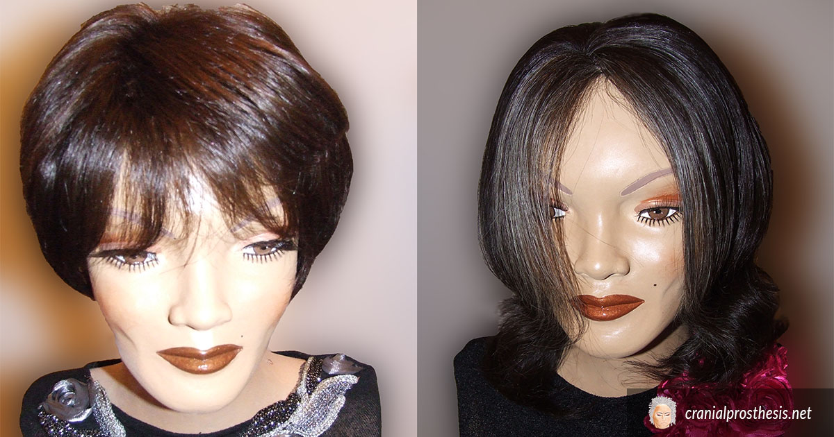Prosthesis Medical Wig For Women | Cranial
